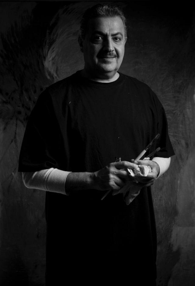 'Penumbra: Textured Shadow, Coloured Light', Rashid Khalifa, Saatchi Gallery