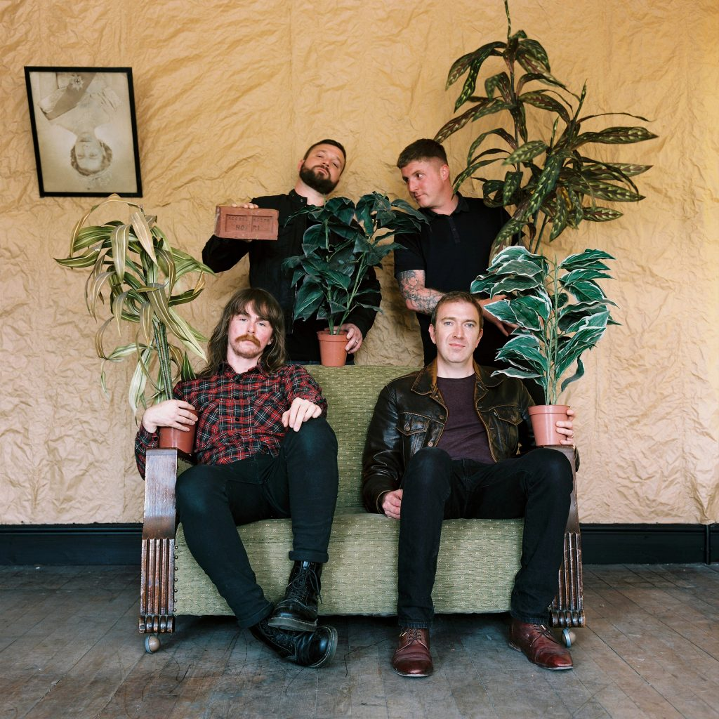Imperial Wax featuring ex members of The Fall are promoting their debut album Gastwerk Saboteurs