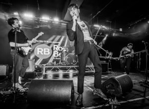 Hull indie band Life on stage at REDS, Butlins, Bognor Regis at Rockaway Beach festival 2020
